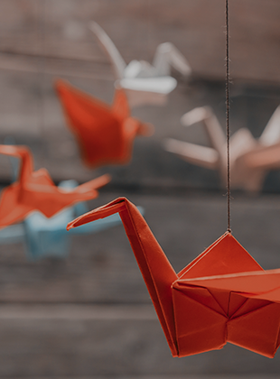 What's the connection between a cow, a digital printer and origami?