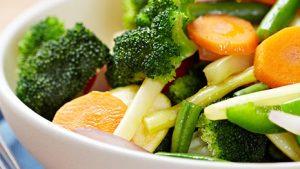 ירקות מבושלים ללא גלוטו