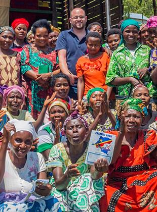 מסע לנשים מגדלות קפה בקונגו