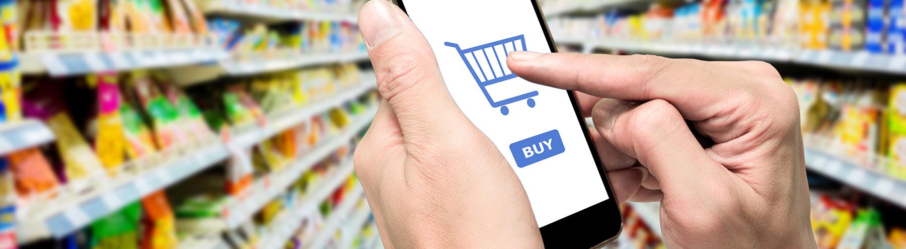מסחר אלקטרוני בתעשיית המזון