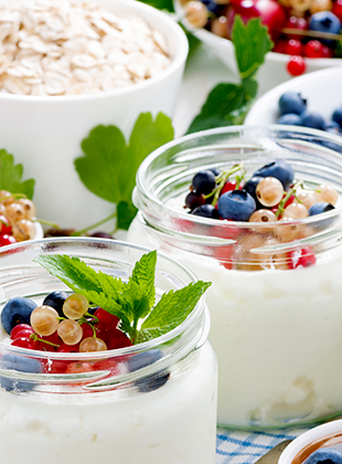 Yogurt: a great booster for the daily diet