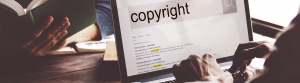 Search copyright in google